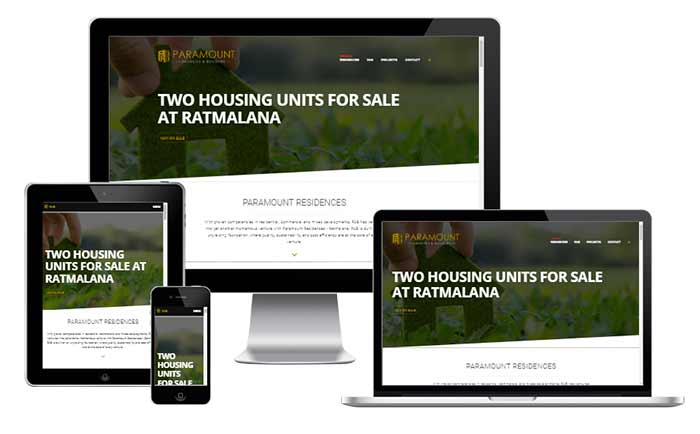 Profile Website for Property Builders