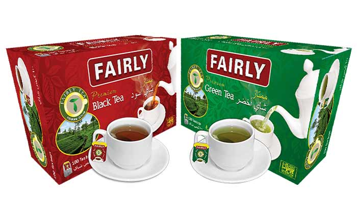 Tea Packaging for Export Quality Black and Green Tea